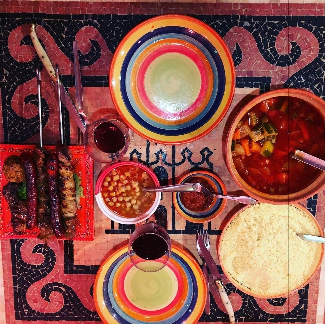 repas tunisien au princes des sables à Rouen