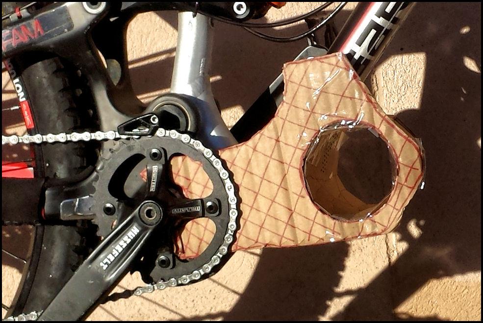 conversión de bicicleta