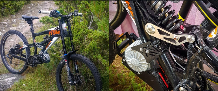 bolt on motor lift mtb