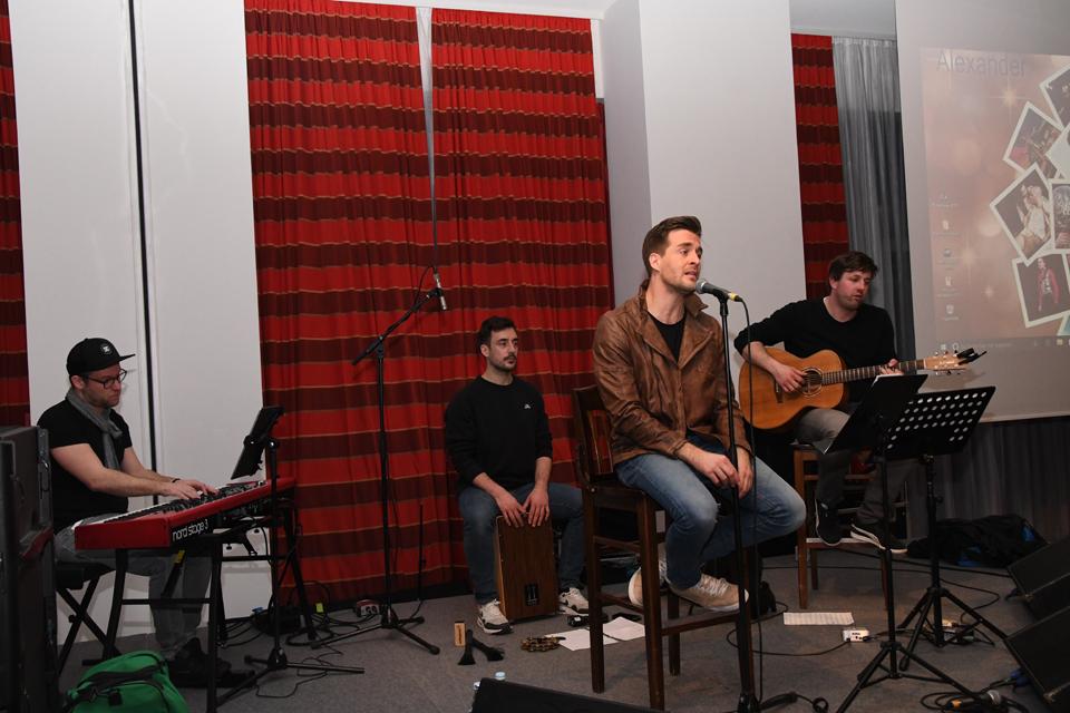 Soundcheck Alex und Band   © Offizieller Alexander Klaws Fanclub