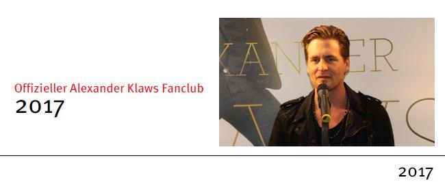 (c) Offizieller Alexander Klaws Fanclub