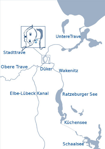 Rudern in Lübeck