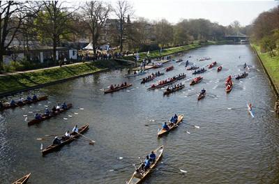 Kanal - Anrudern