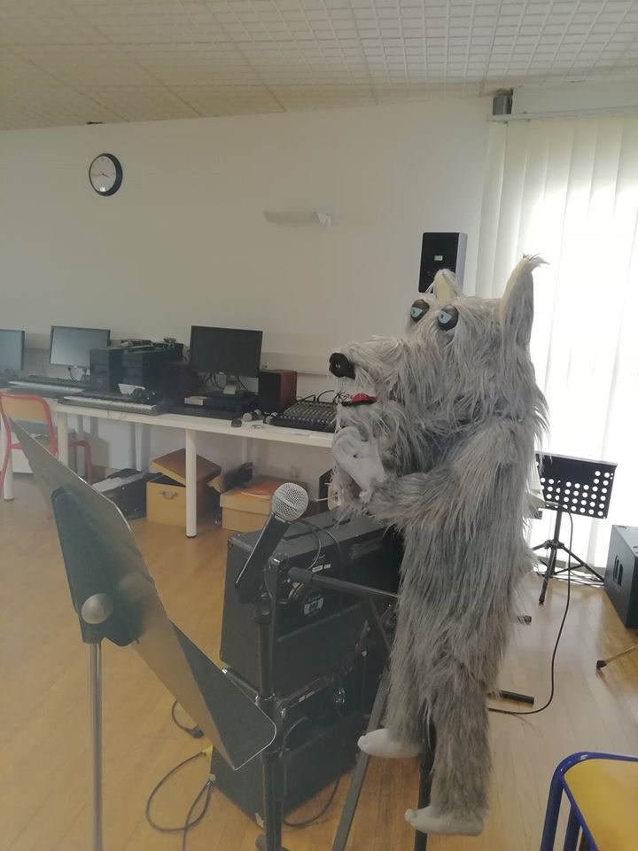création du loup Loupiote