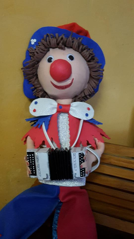 Fofuchas, le clown accordéoniste