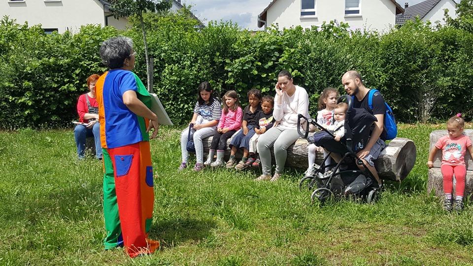 Contes au jardin : Parc du rebbergalla Wittenheim 16 juin 2019
