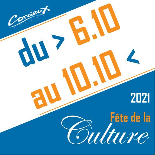 fête de la culture Corcieux 2021