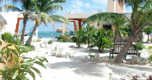 -HOTEL MAYAN BEACH GARDEN  -   - EL PLACER - COSTA MAYA -