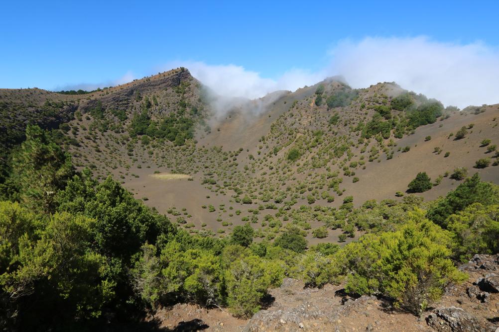 Eine der höchsten Erhebungen in der Cumbre - Mirador de Fireba