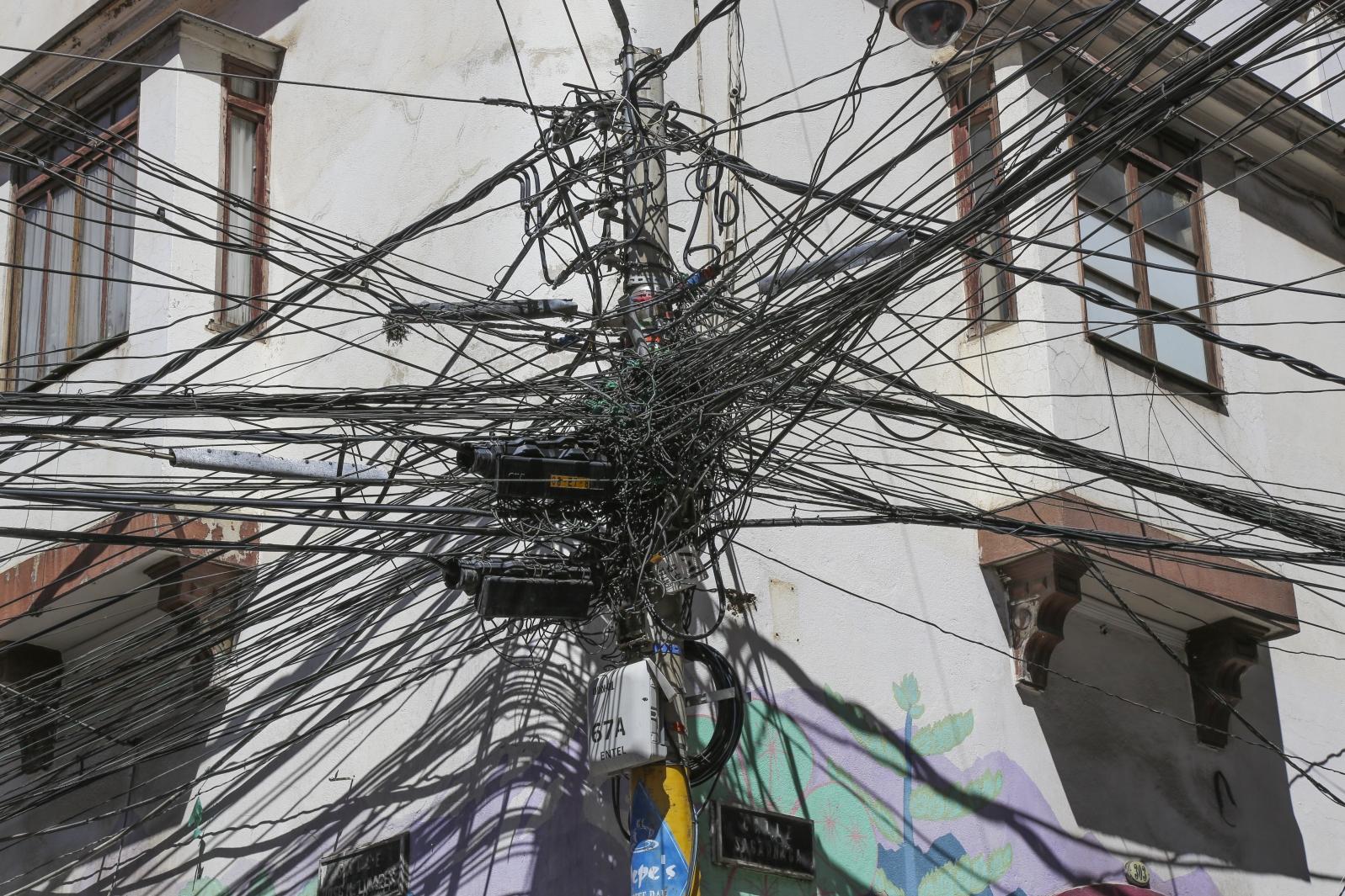 Stromversorgung auf Bolivianisch
