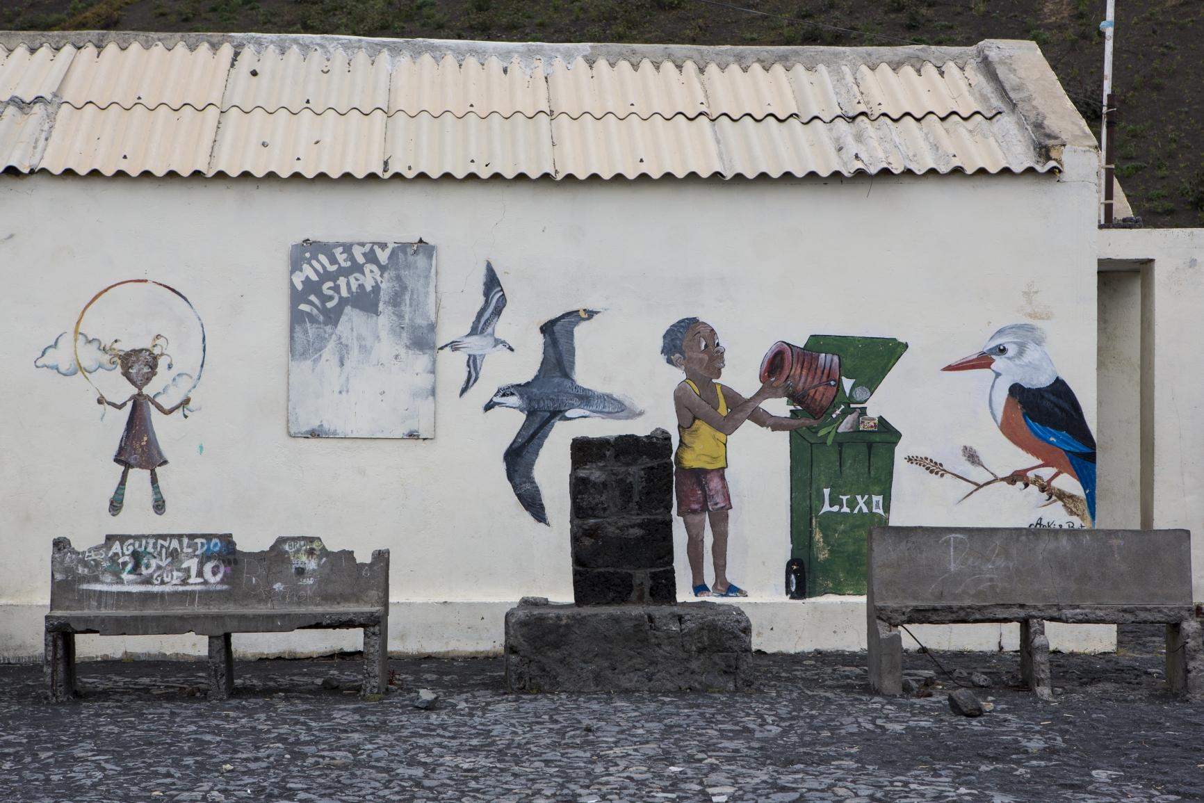 Fogo - Pangeira - das war die Schule