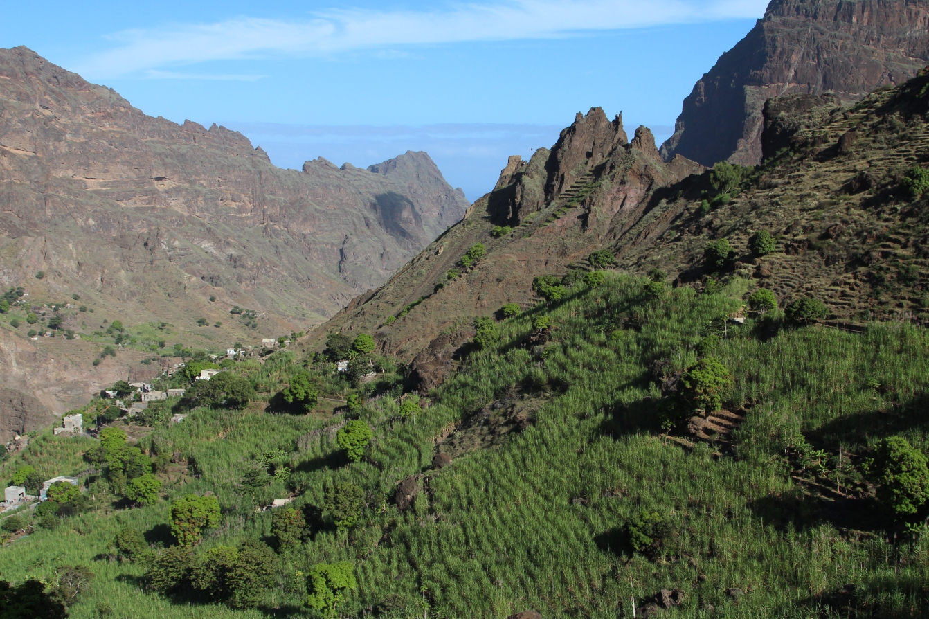 Santo Antao - Wanderung durch das Tal von Garca