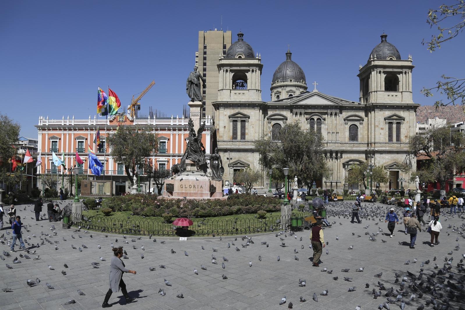 La Paz - Plaza Murillo