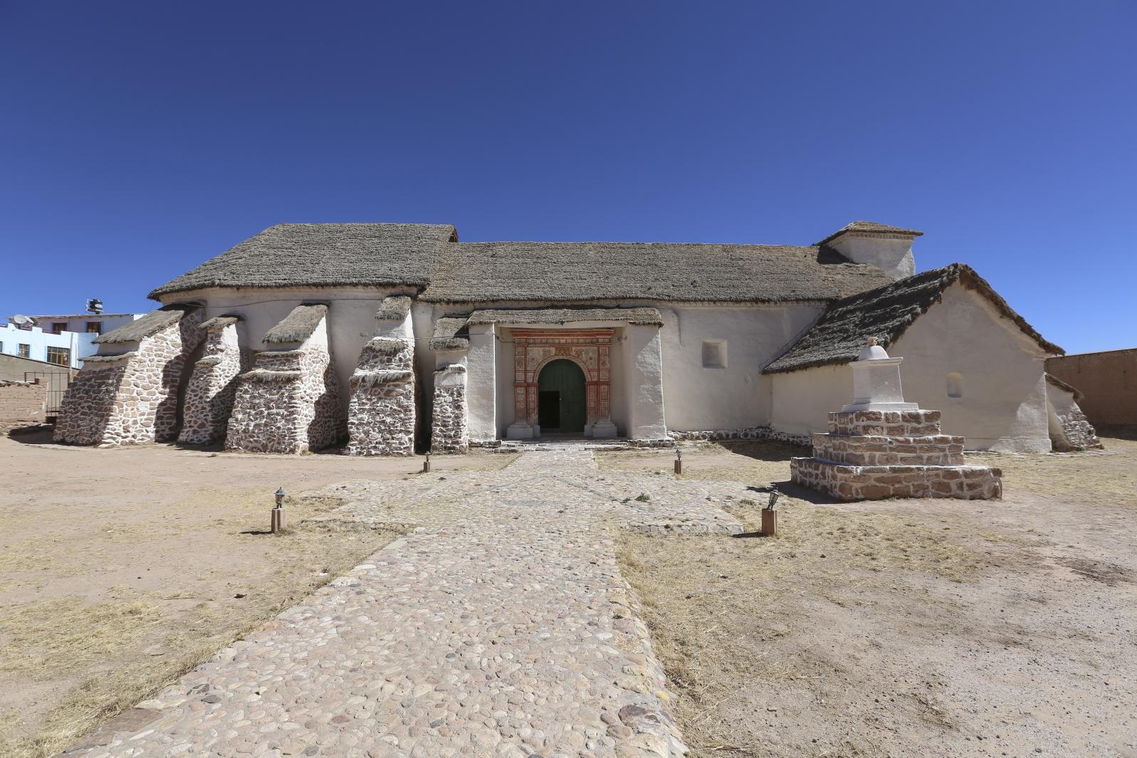 Carahuara de Corangas - eine der ältesten Kirchen Südamerikas