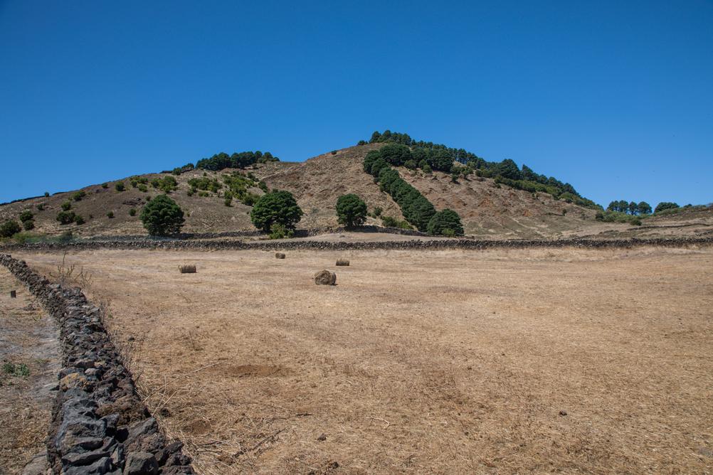 Landschaft Meseta de Nisdafe bei San Andres