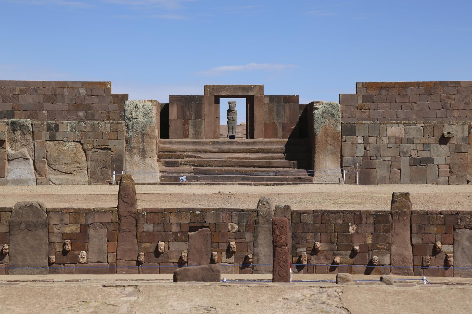 Ruinenstätte Tiwanaku