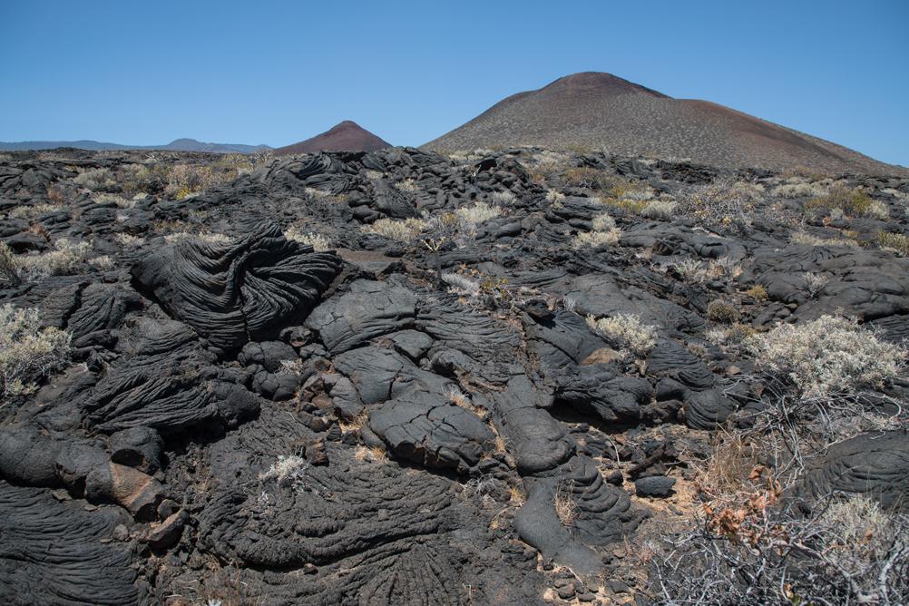 Vulkanlandschaft bei La Restinga
