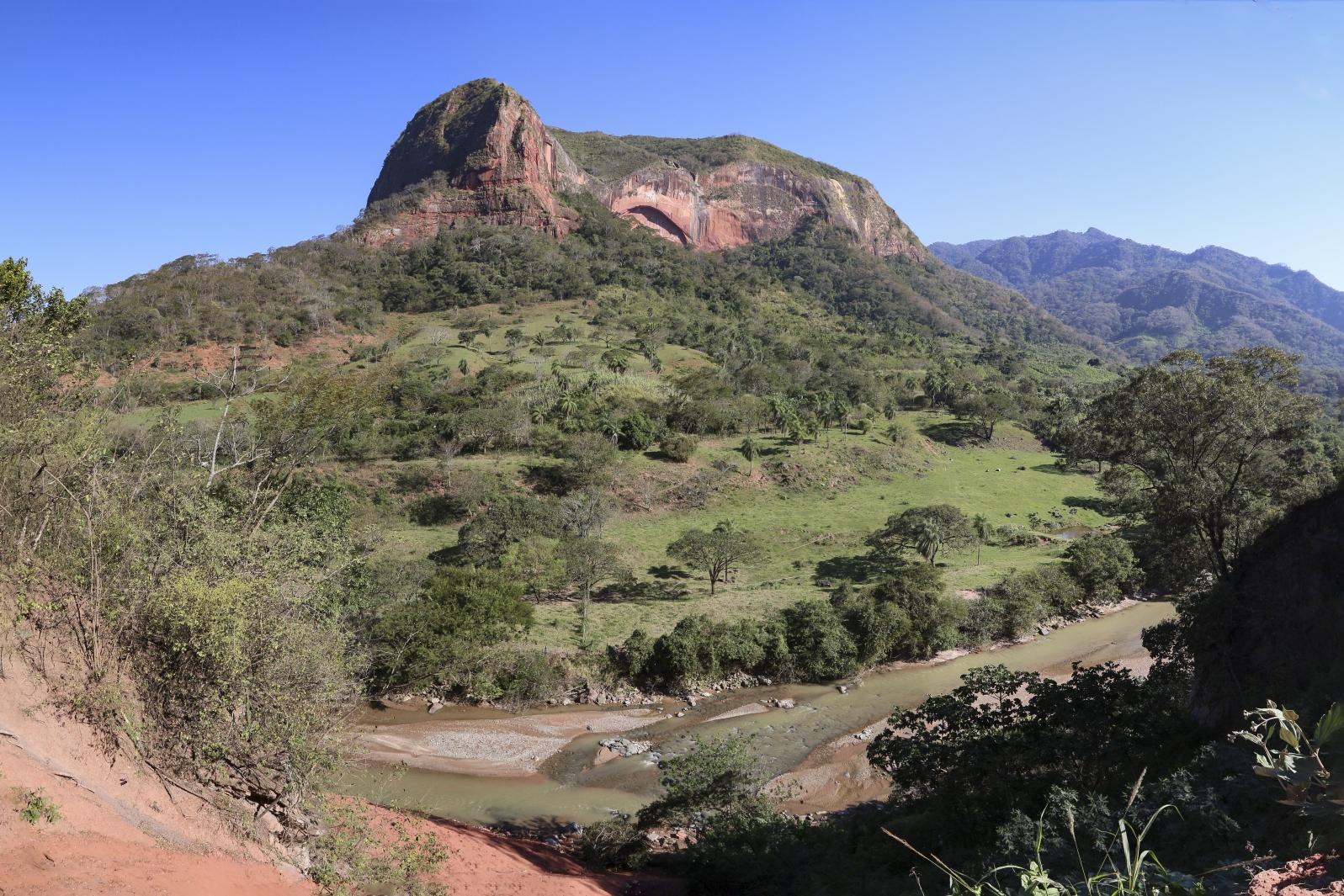 Am Weg zum Amboro Nationalpark