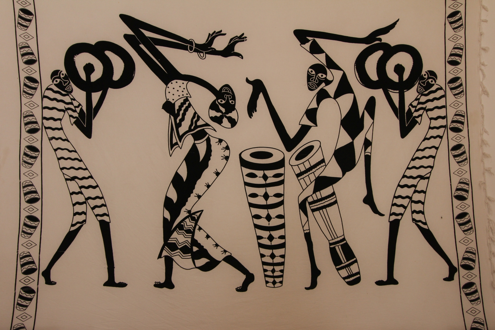 Fogo - afrikanisch geprägte Kunst