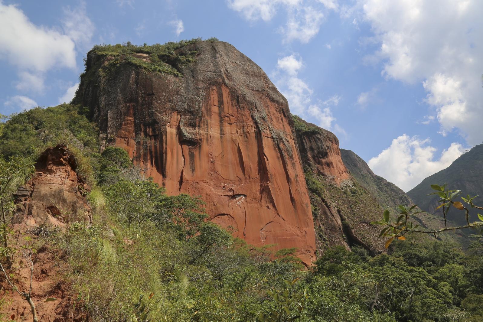 Amboro Nationalpark - Bei der Refugio Los Volcanes