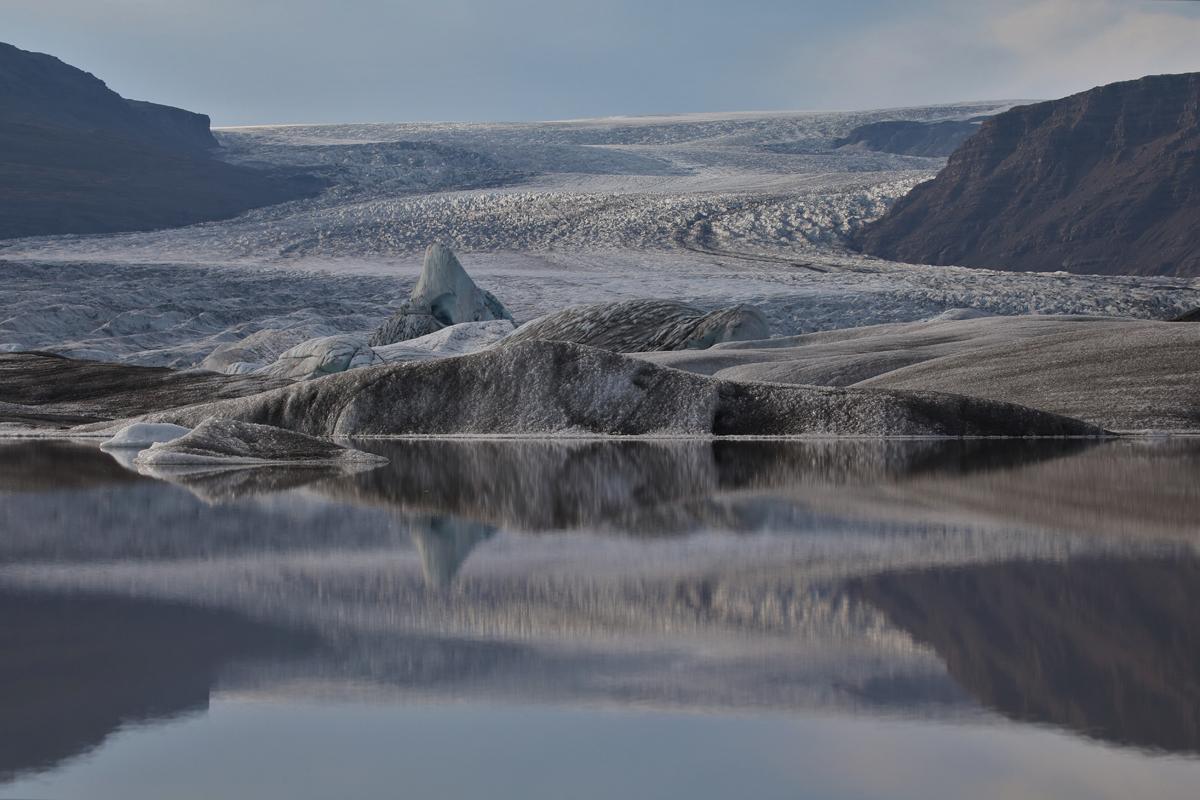 Gletschersee am Hoffellsjökull