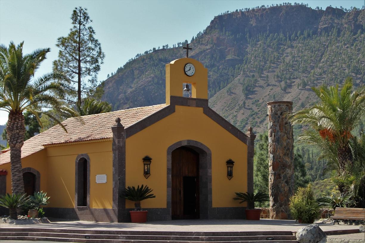 Kircherl am Mirador Posada bei San Bartolome