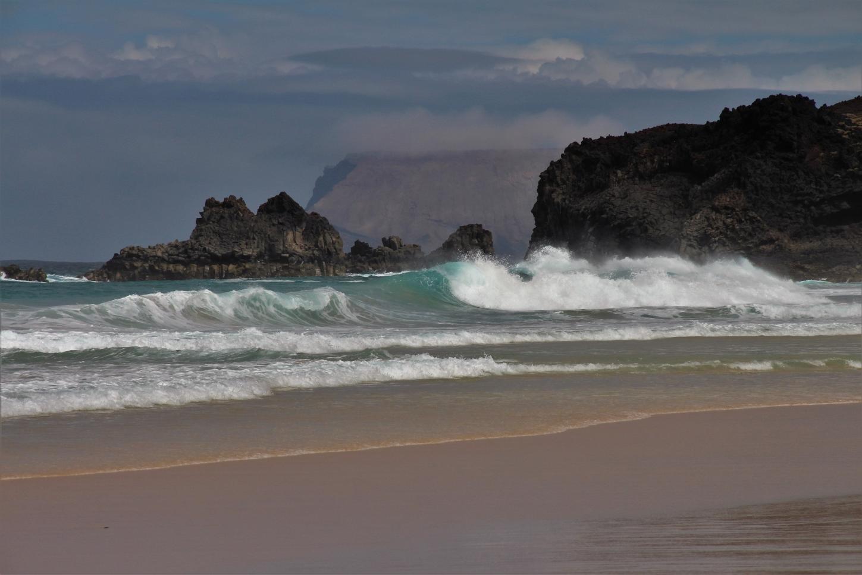 La Graciosa - Playa de las Conchas