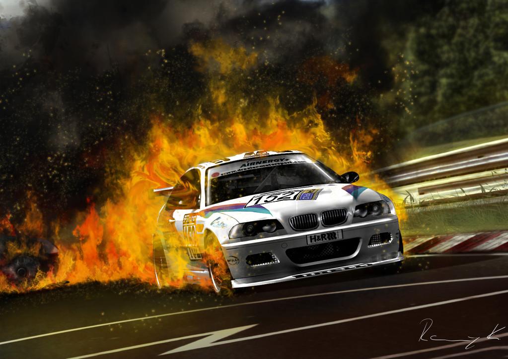 Bildnachbearbeitung eines Game-Screenshots