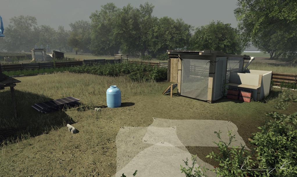 Projekt MOGLI- Infrabox (mit Nikolas Bedau, gerendert mit einer Spiele-Engine)
