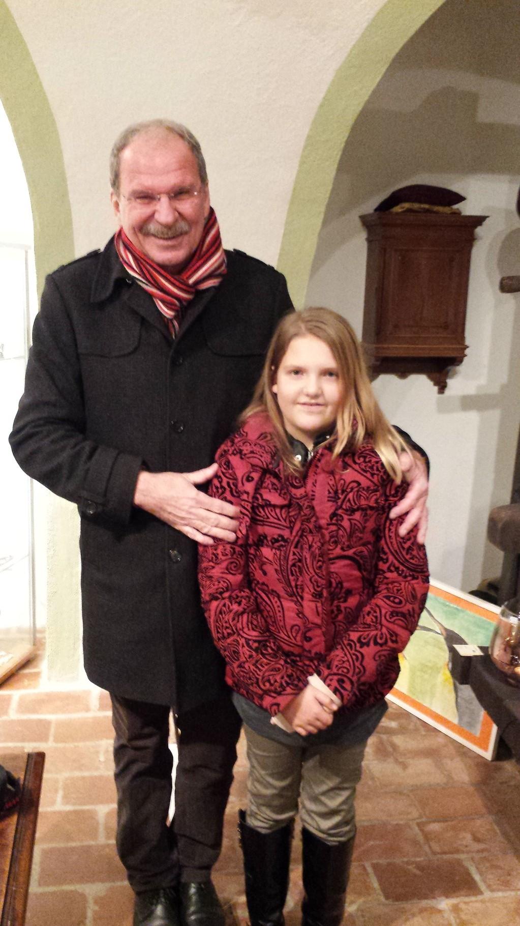 Schauspieler Herr Friedrich von Thun - Kunsthaus Rust - 29.11.2014
