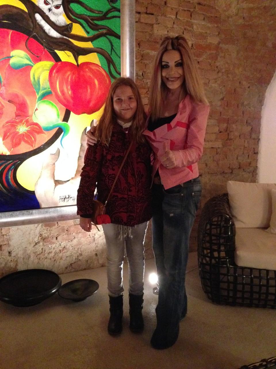 die österreichische Künstlerin und Multitalent Isabella Bogner - Bader - Ausstellung IBB - 24.10.2014