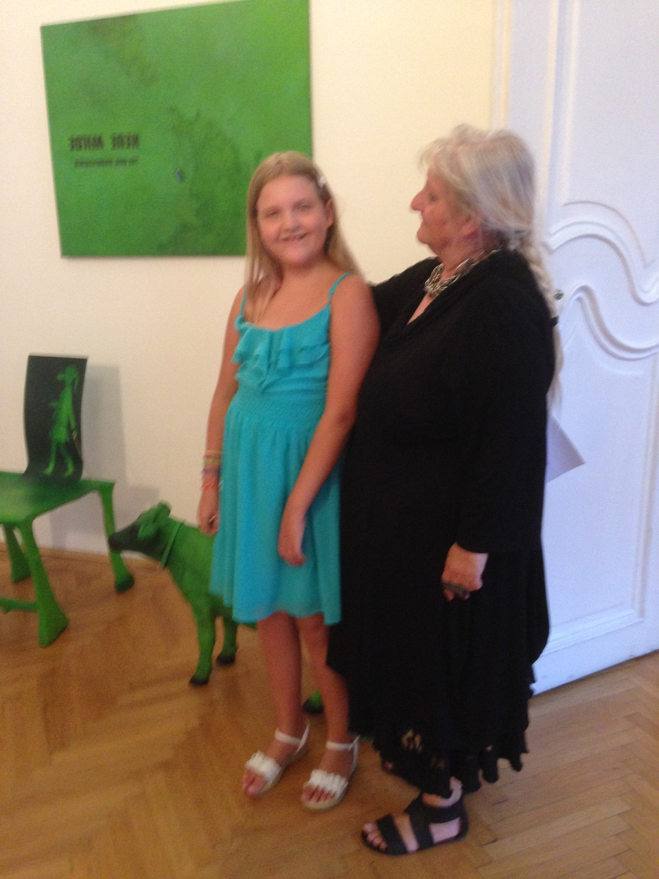 die österreichische Künstlerin Hertha Seyrl - 7.Annuale-MOYA - 23.6.2014