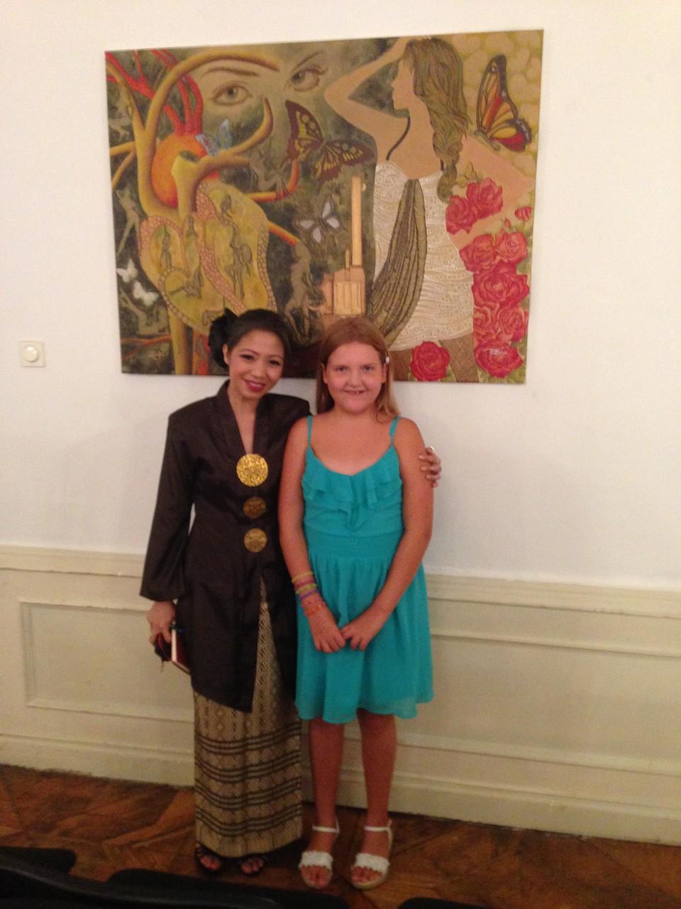 die malaysische Künstlerin Fay Zakaria - 7.Annuale-MOYA - 23.6.2014