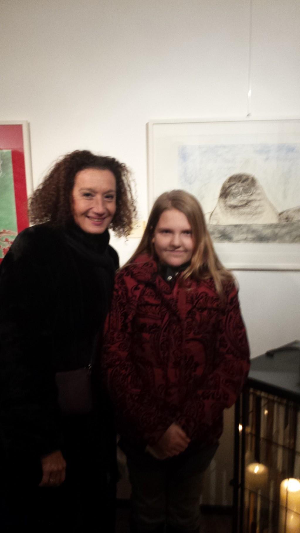 Schauspielerin Frau Konstanze Breitebner - Kunsthaus Rust - 29.11.2014