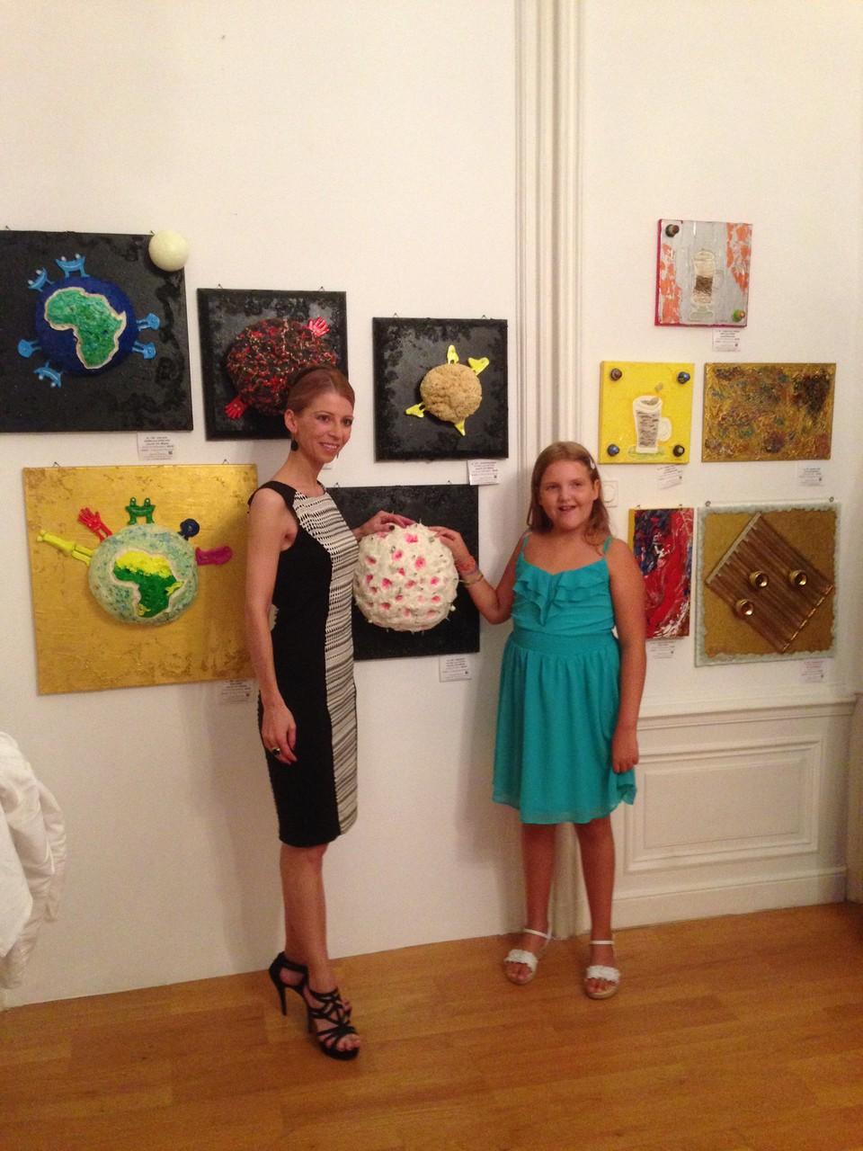 die österreichische Künstlerin Sandra Altmann - 7.Annuale-MOYA - 23.6.2014