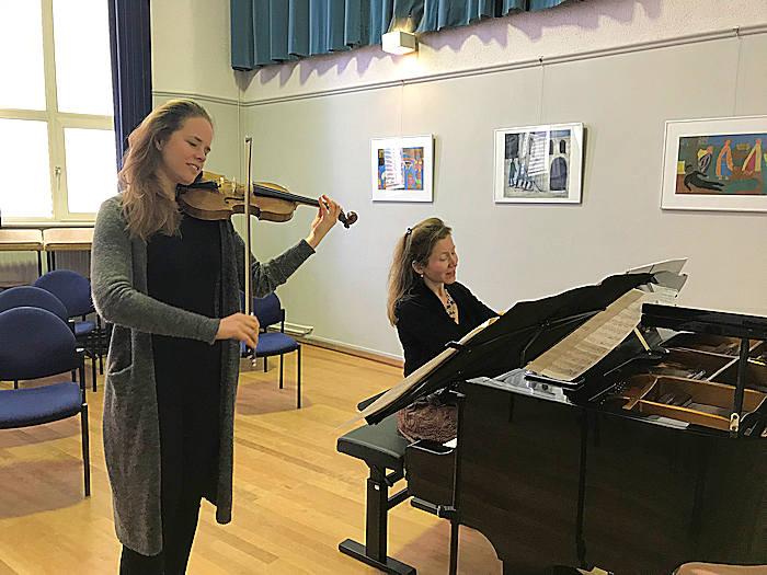 Lisa Jacobs en Ksenia Kouzmenko