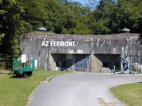 Fort de Fermont - Grand Est - Grande guerre