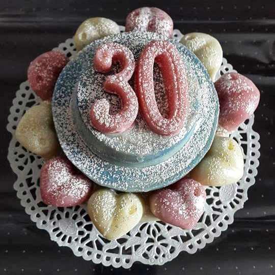 Seife für den 30. Geburtstag
