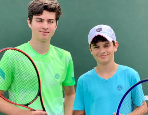 Felix & Lucian Mischker, Tennisbrothers