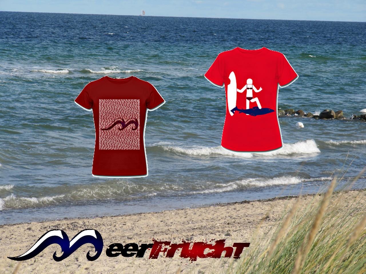 MeerFrucht: Neue Kollektion im Jahr 2014: Damen-T-Shirts