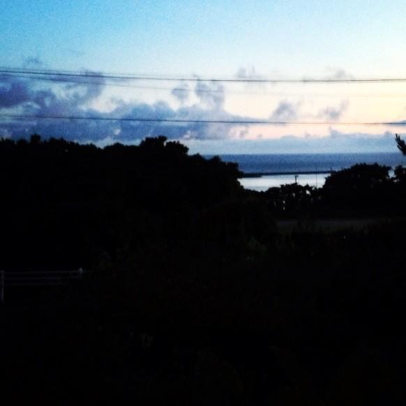 屋久島の朝