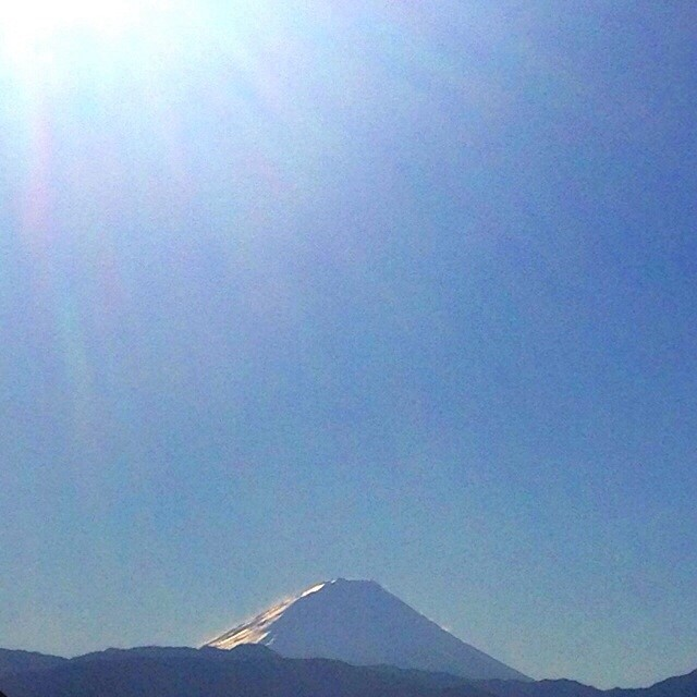 1月3日富士山