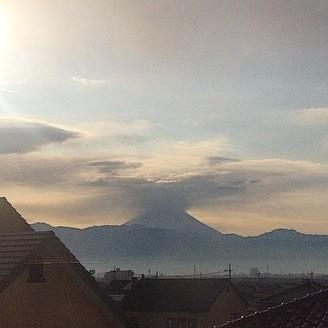 2015年1月4日 富士山