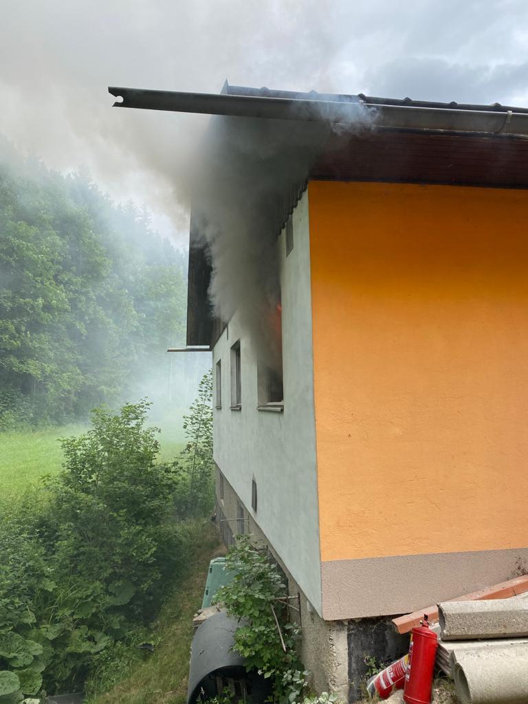 Heizungsbrand in St. Aegyd / Mitterbach