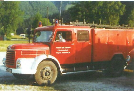 Steyr 586 von der BF Wien