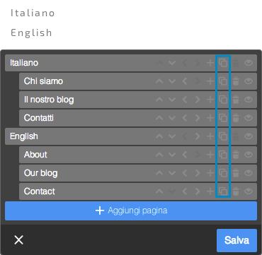Navigazione multilingue