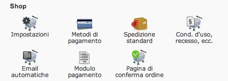 Shop toolbar