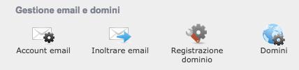 Attivare email