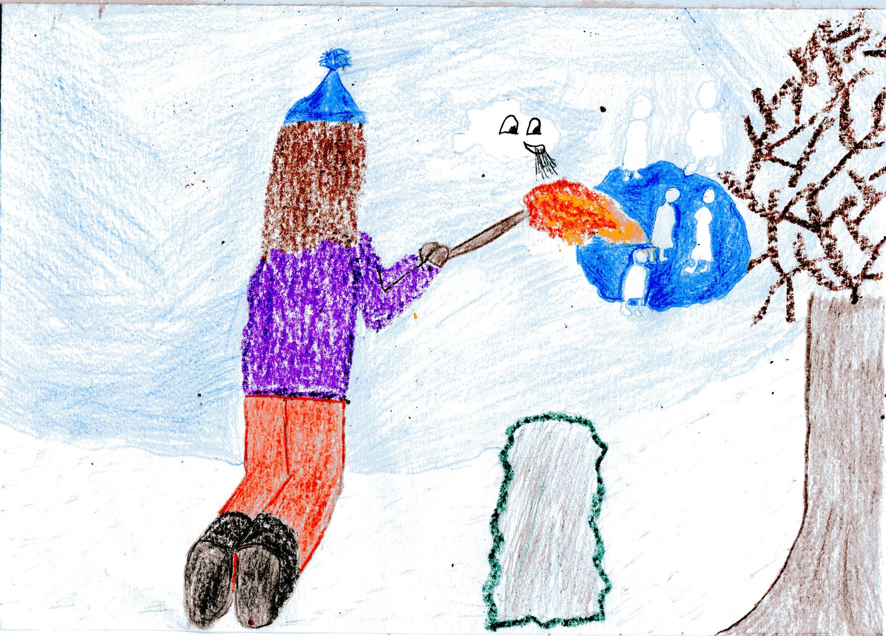 Dorothea und Sausewind tauen das Eis auf