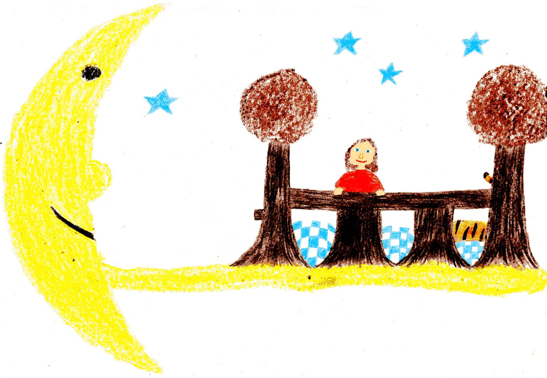 Dorothea träumt von einer Reise zu den Sternen